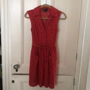 Anthropologie Tracy Reese Compeer Dress Petite